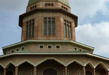 the only bahai temple in Africa