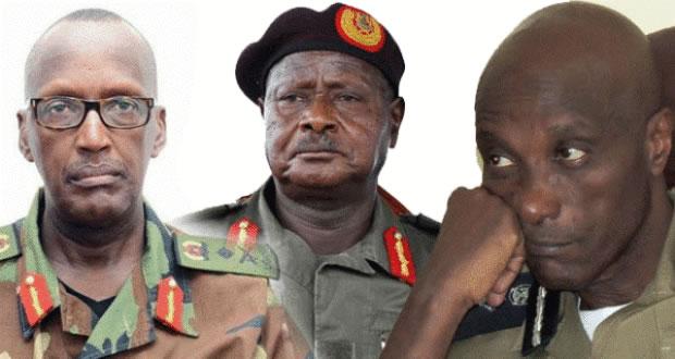 Museveni sacks Kayihura