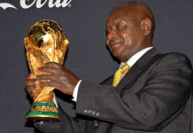 Uganda hosts the world cup trophy