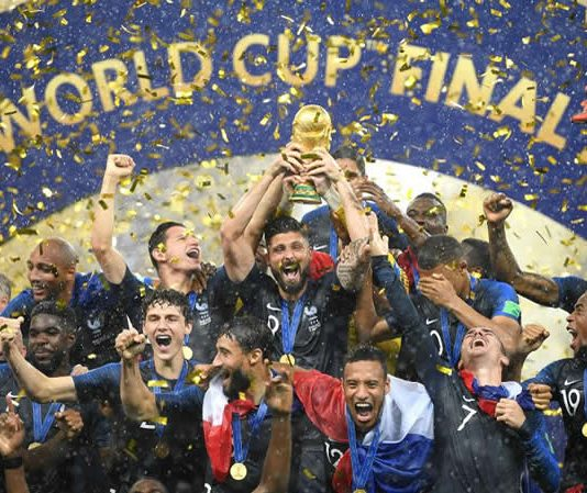 France win 2018 world cup
