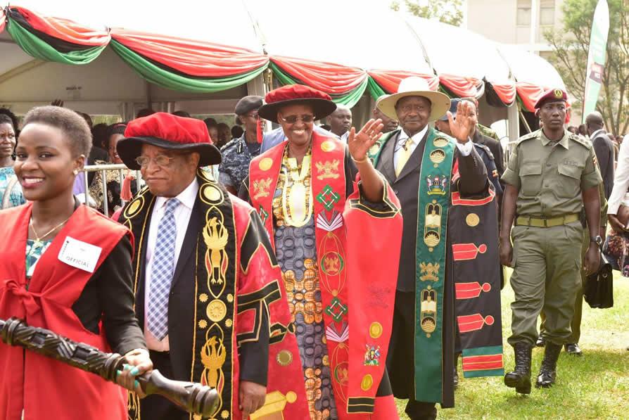 69th Graduation at Makerere University